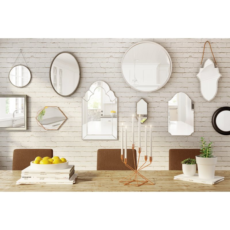Inspiration about Dariel Tall Arched Scalloped Wall Mirror Inside Dariel Tall Arched Scalloped Wall Mirrors (#8 of 20)