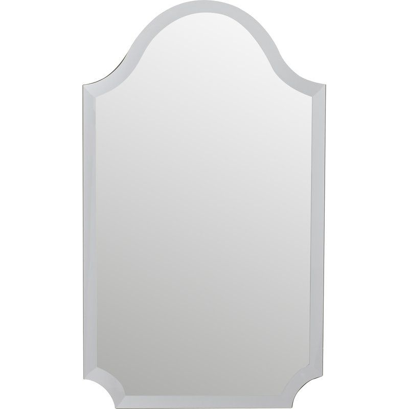 Inspiration about Dariel Tall Arched Scalloped Wall Mirror | Powder Room Intended For Dariel Tall Arched Scalloped Wall Mirrors (#9 of 20)