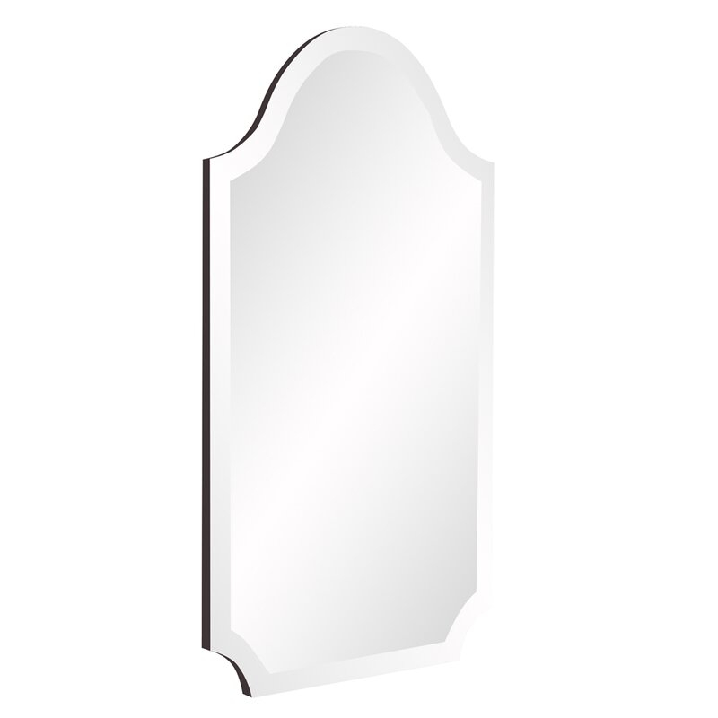 Dariel Tall Arched Scalloped Wall Mirror With Dariel Tall Arched Scalloped Wall Mirrors (#14 of 20)