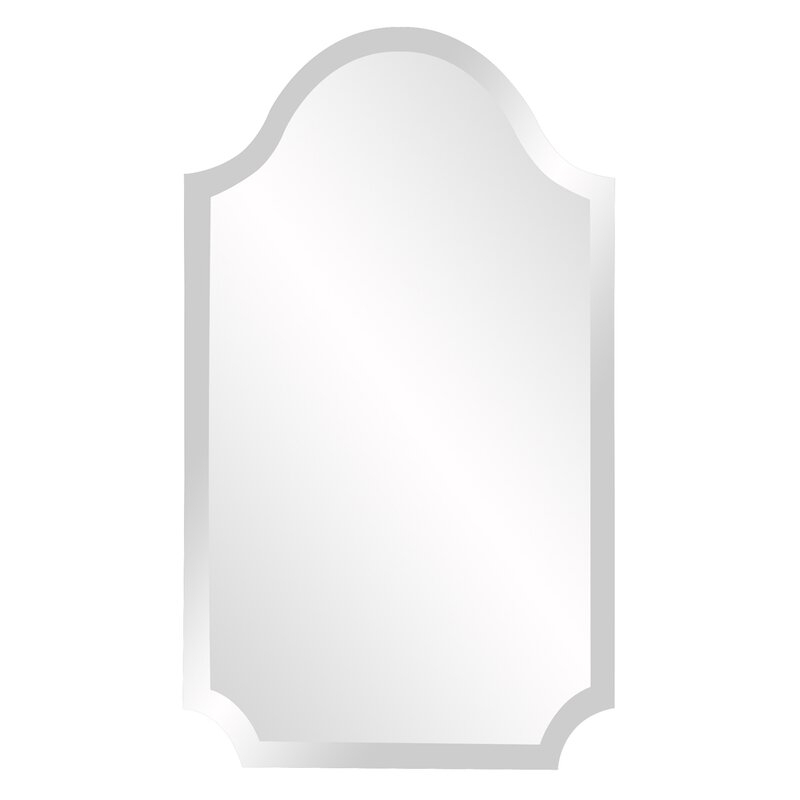 Popular Photo of Dariel Tall Arched Scalloped Wall Mirrors