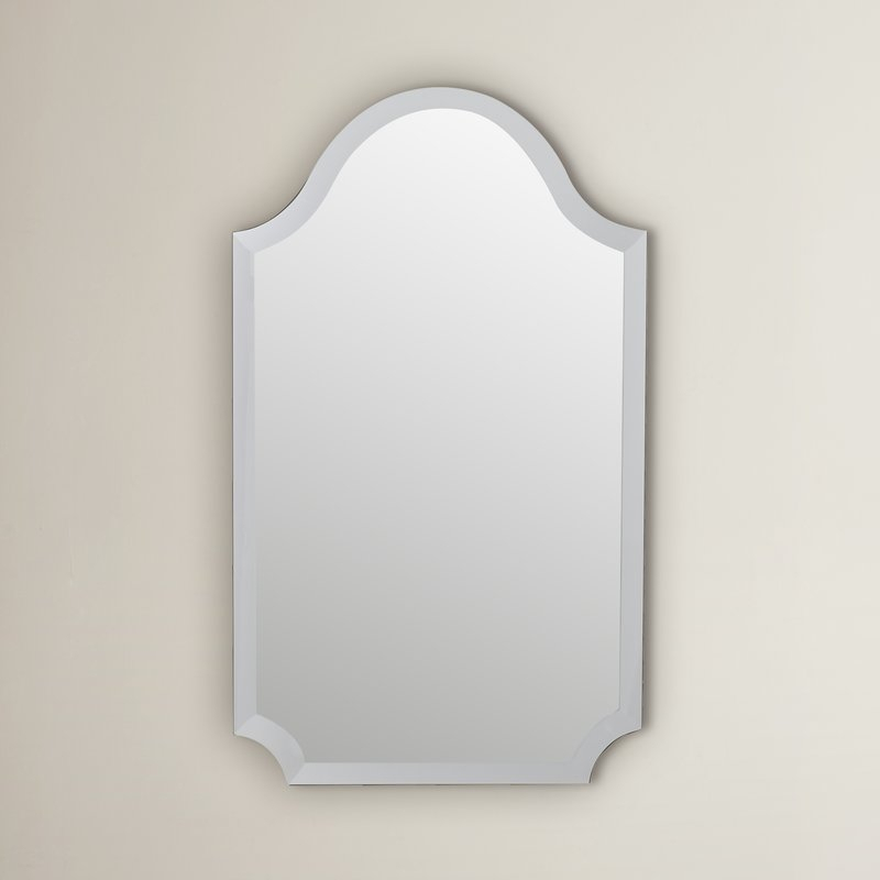 Dariel Tall Arched Scalloped Wall Mirror Within Dariel Tall Arched Scalloped Wall Mirrors (#15 of 20)