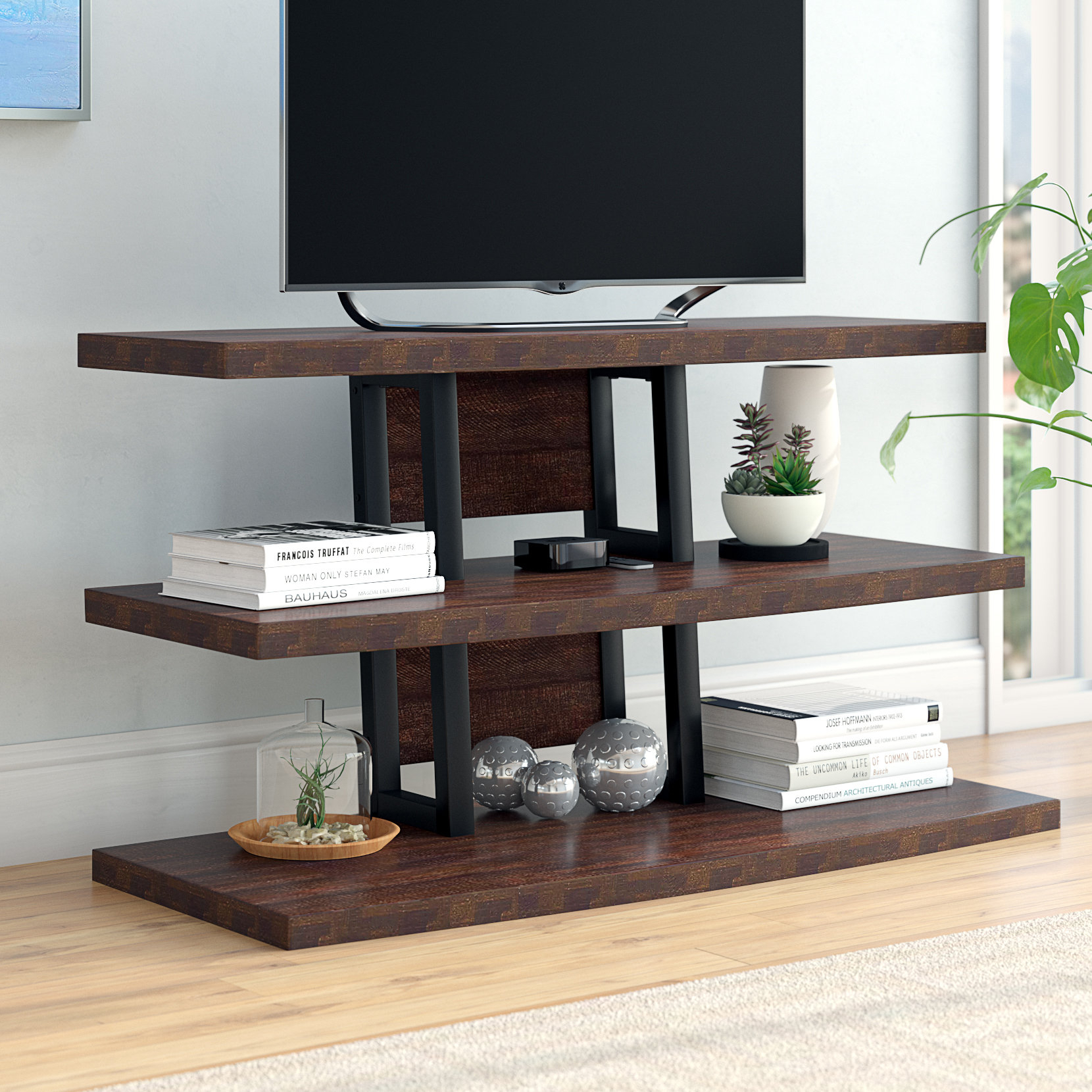 """Inspiration about Dark Brown Wood Tv Stands You'll Love In 2019 