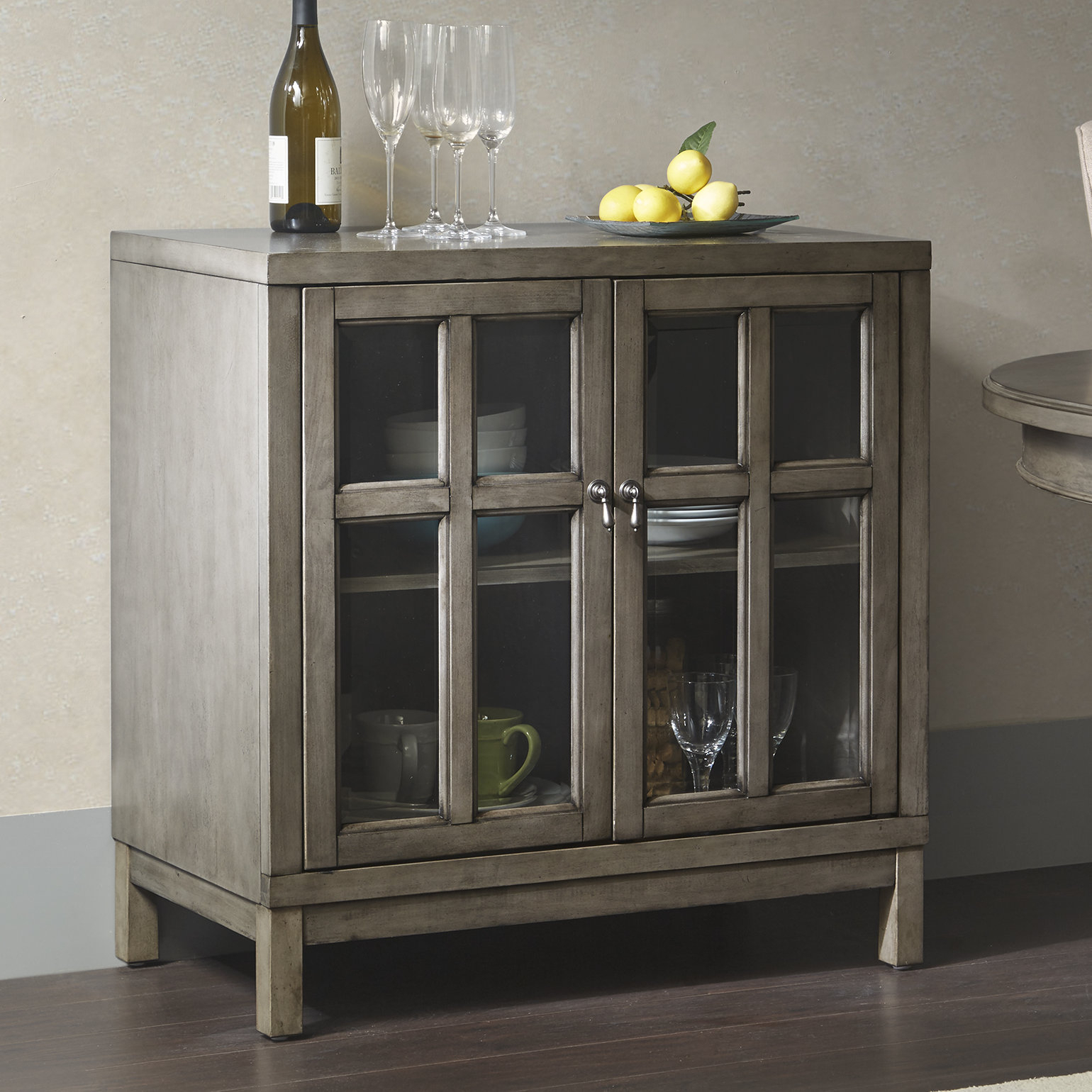 Inspiration about Dark Wood Credenza | Wayfair Pertaining To Best And Newest Candide Wood Credenzas (#19 of 20)