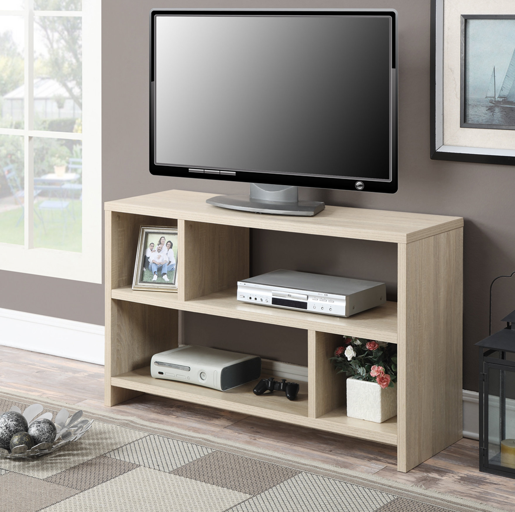 "Inspiration about D'aulizio Tv Stand For Tvs Up To 43"" Inside Most Recently Released Ericka Tv Stands For Tvs Up To 42"" (#2 of 20)"