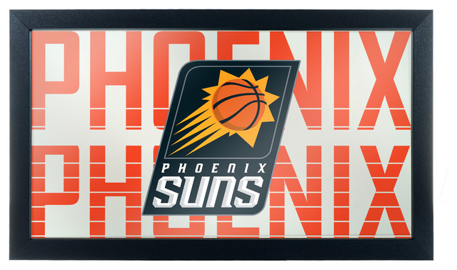 Inspiration about Décor Nba Philadelphia 76Ers Framed Logo Mirror Within Rhein Accent Mirrors (#20 of 20)