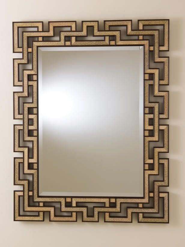 Decorative Mirror Frames | Things To Wear | Mirror Gallery Wall For Caja Rectangle Glass Frame Wall Mirrors (#9 of 20)