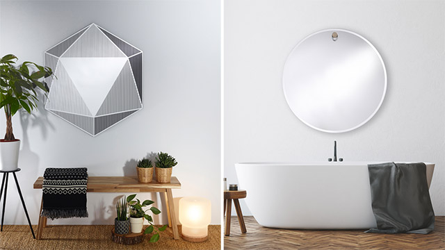 Inspiration about Deknudt Mirrors · Pfister With Regard To Pfister Oval Wood Wall Mirrors (#20 of 20)