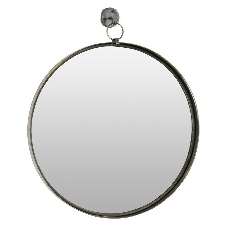 Inspiration about Della Suspended Round Wall Mirror In 2019 | Shopping For Bb Pertaining To Kinley Accent Mirrors (#17 of 20)