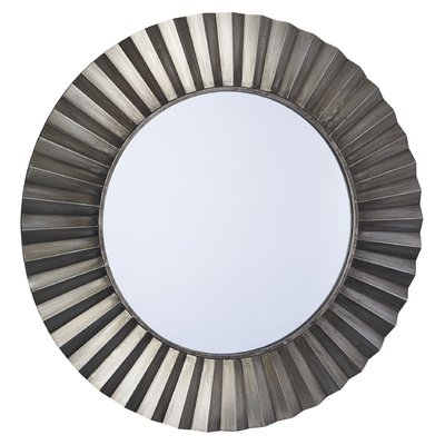 Deniece Sunburst Round Wall Mirror | Joss & Main For Deniece Sunburst Round Wall Mirrors (#8 of 20)