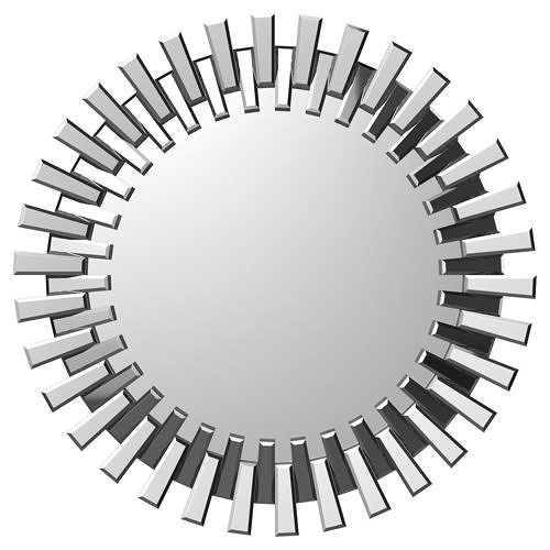 Deniece Sunburst Round Wall Mirror Wrlo7344 | 3D Model Within Deniece Sunburst Round Wall Mirrors (#7 of 20)
