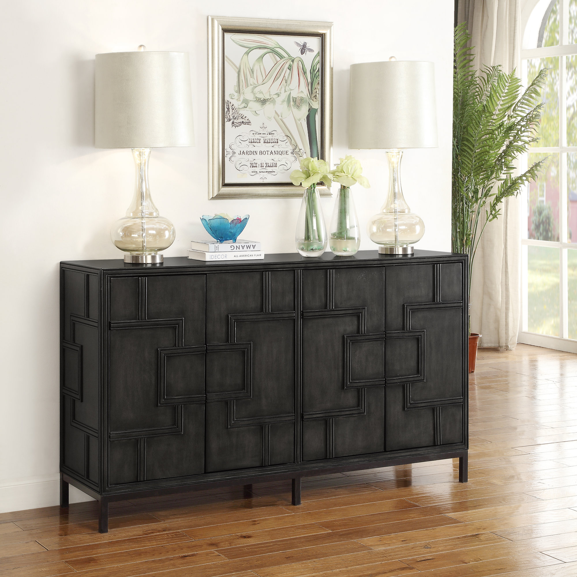 Inspiration about Details About Bloomsbury Market Candide Wood Credenza With Regard To Newest Candide Wood Credenzas (#1 of 20)