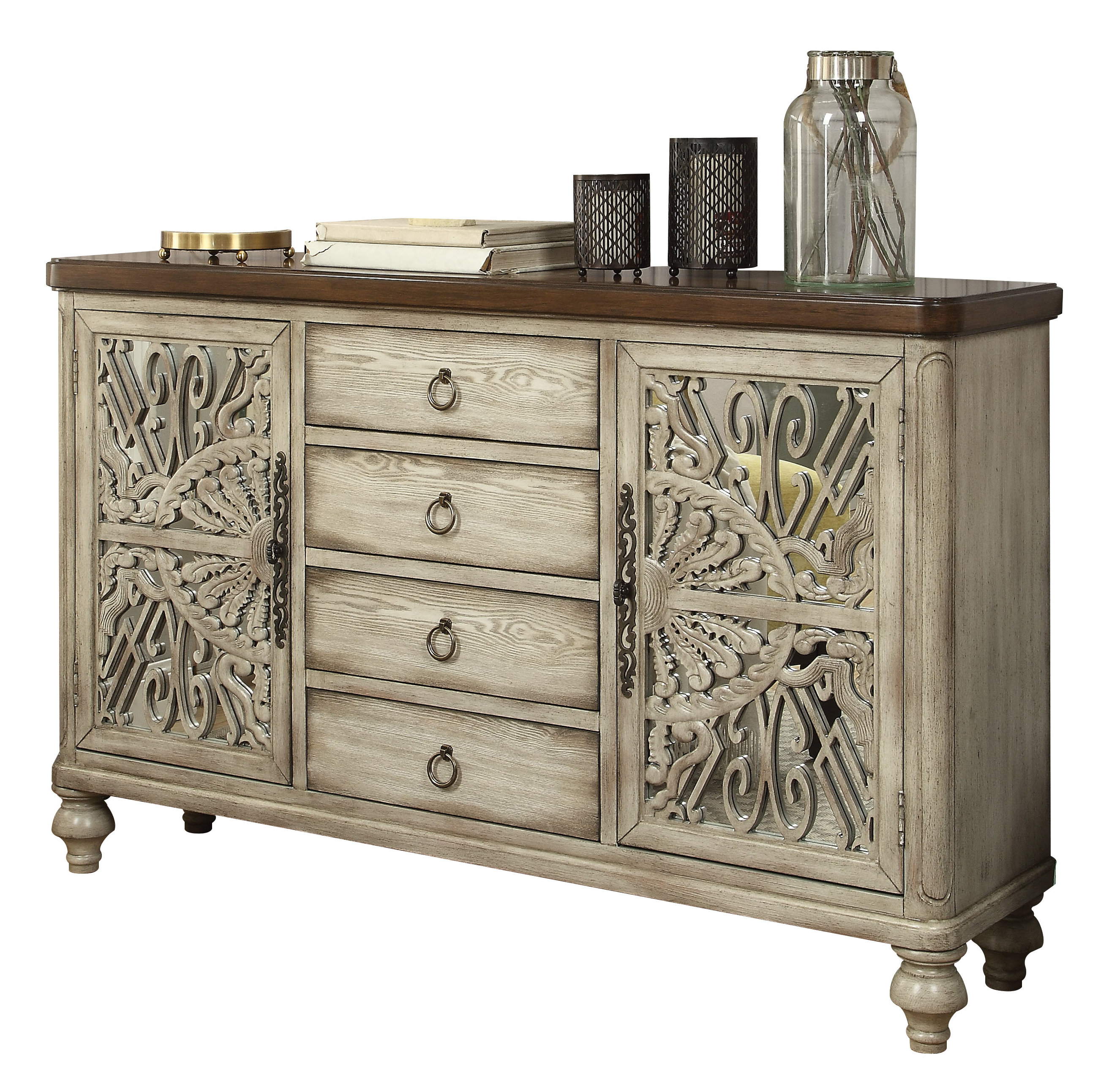 Dillen Sideboard Pertaining To Most Current Giulia 3 Drawer Credenzas (View 10 of 20)