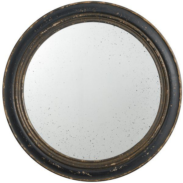 Inspiration about Distressed Accent Mirror In 2019 | Janick Home | Round Wall In Alie Traditional Beveled Distressed Accent Mirrors (#12 of 20)