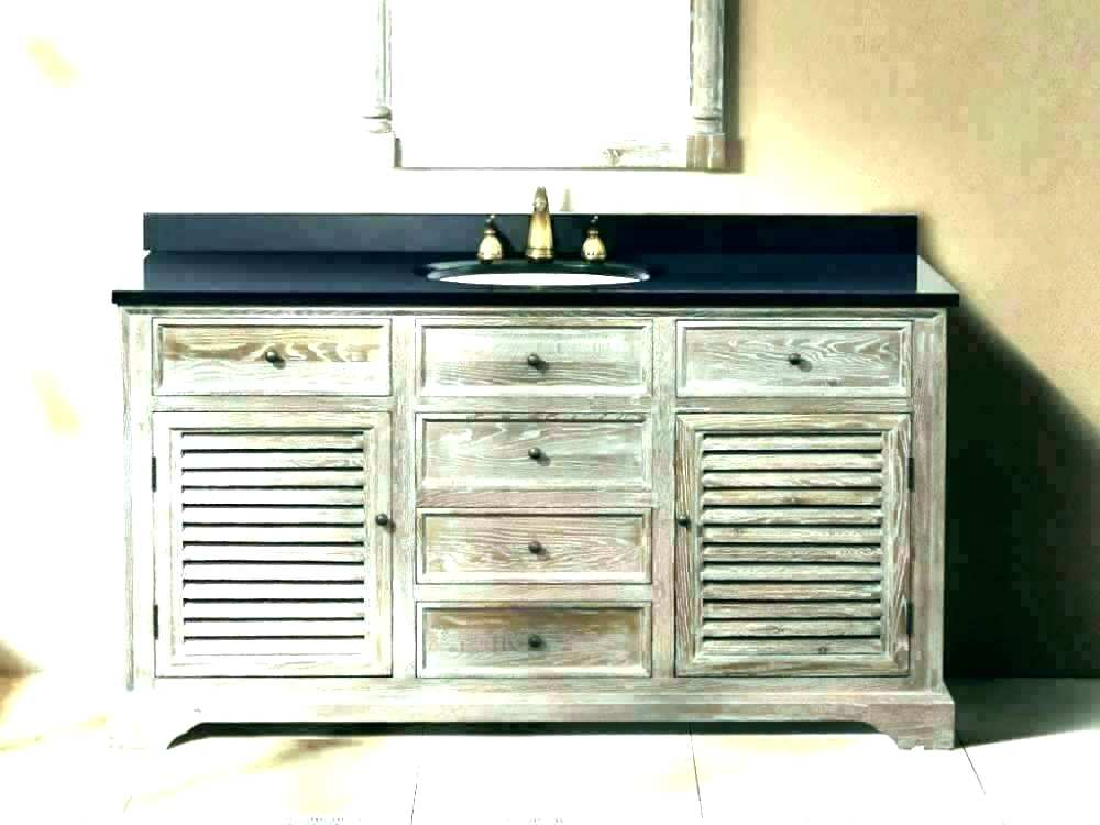 Inspiration about Distressed Bathroom Vanity – Vibgyorarts.co Throughout Landover Rustic Distressed Bathroom/vanity Mirrors (#8 of 20)