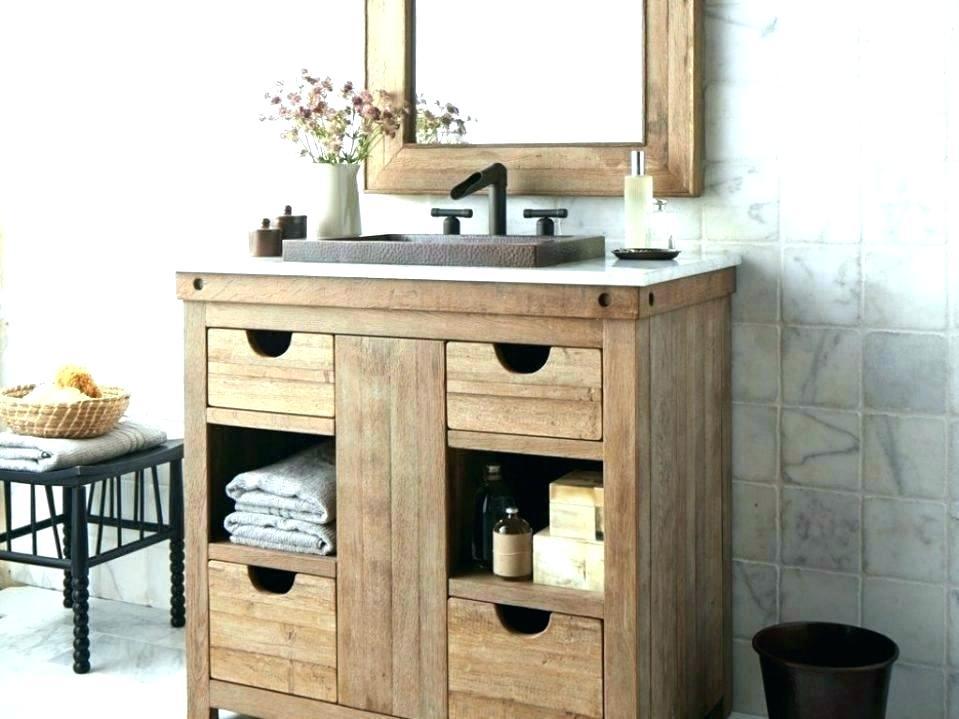 Inspiration about Distressed Bathroom Vanity – Vibgyorarts.co With Regard To Landover Rustic Distressed Bathroom/vanity Mirrors (#18 of 20)