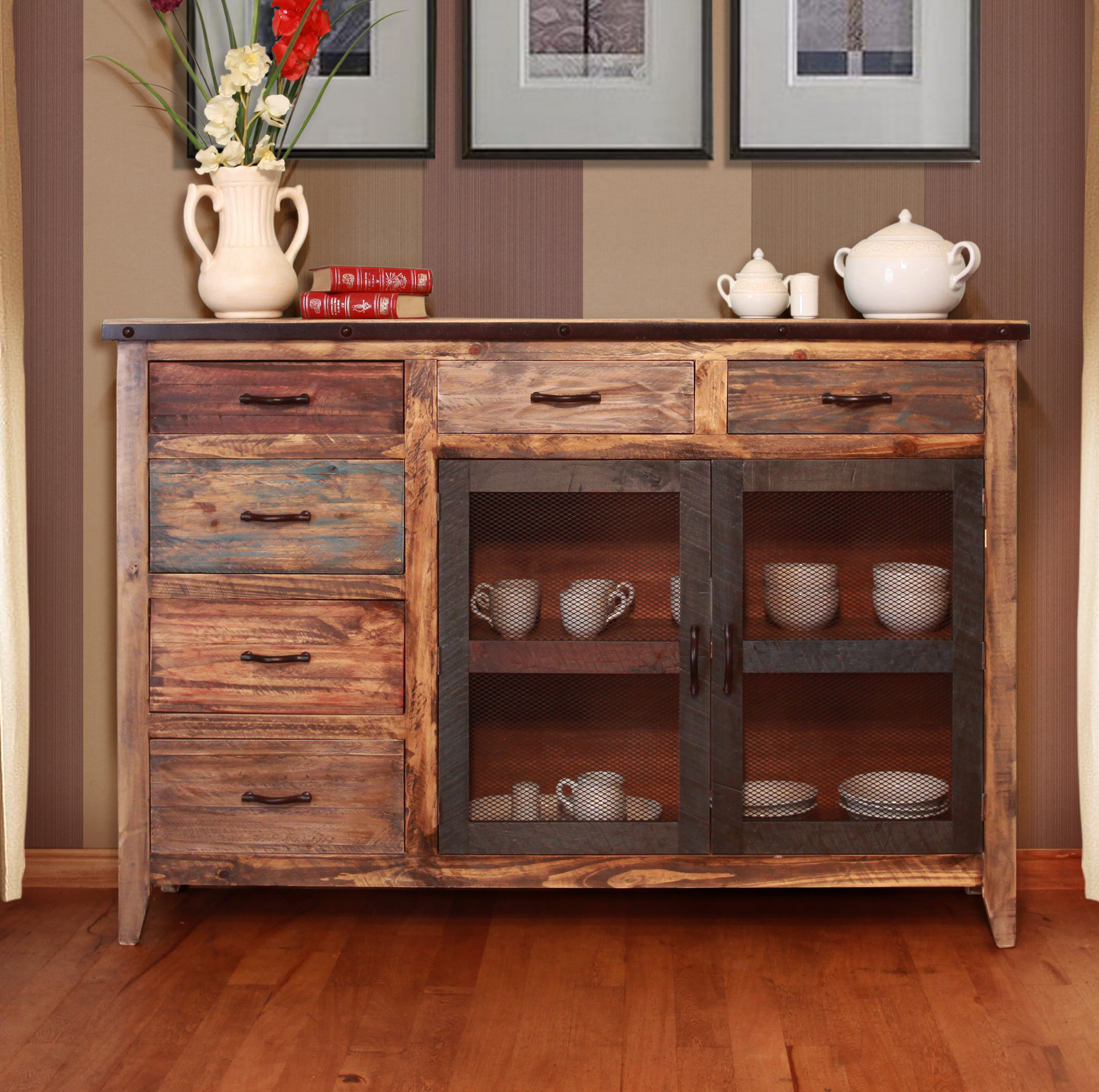 Inspiration about Distressed Finish Sideboards & Buffets You'll Love In 2019 In Most Popular Massillon Sideboards (#12 of 20)
