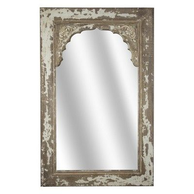 Inspiration about Distressed Wooden Wall Mirror Brown – E2 Concepts In 2019 With Stamey Wall Mirrors (#11 of 20)