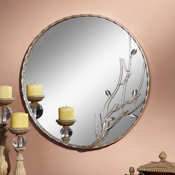 Dixmoor Mirror | Kingwood Home Decor | Espejos With Regard To Sajish Oval Crystal Wall Mirrors (View 17 of 20)