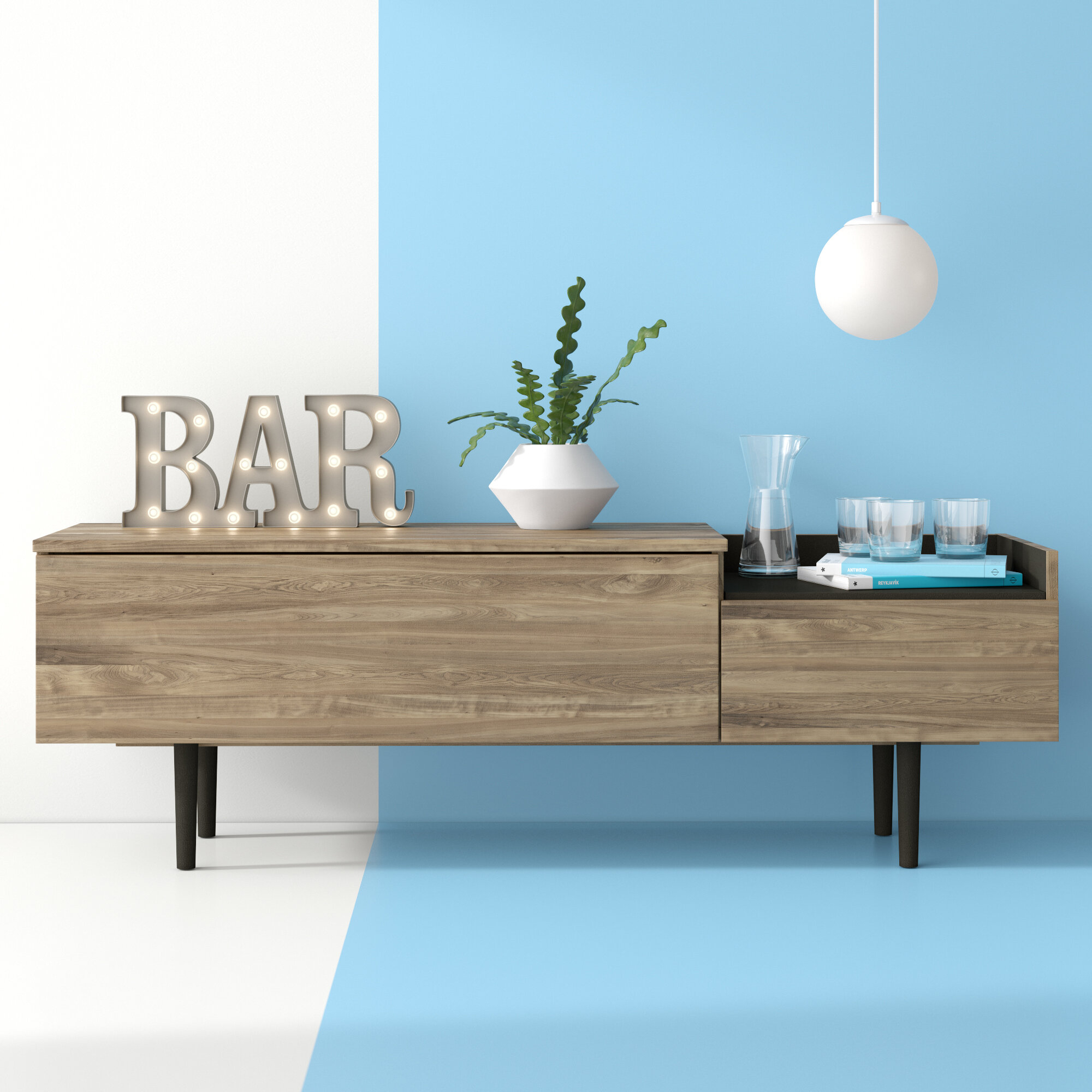 Dovray Sideboard Pertaining To Latest Dovray Sideboards (#6 of 20)