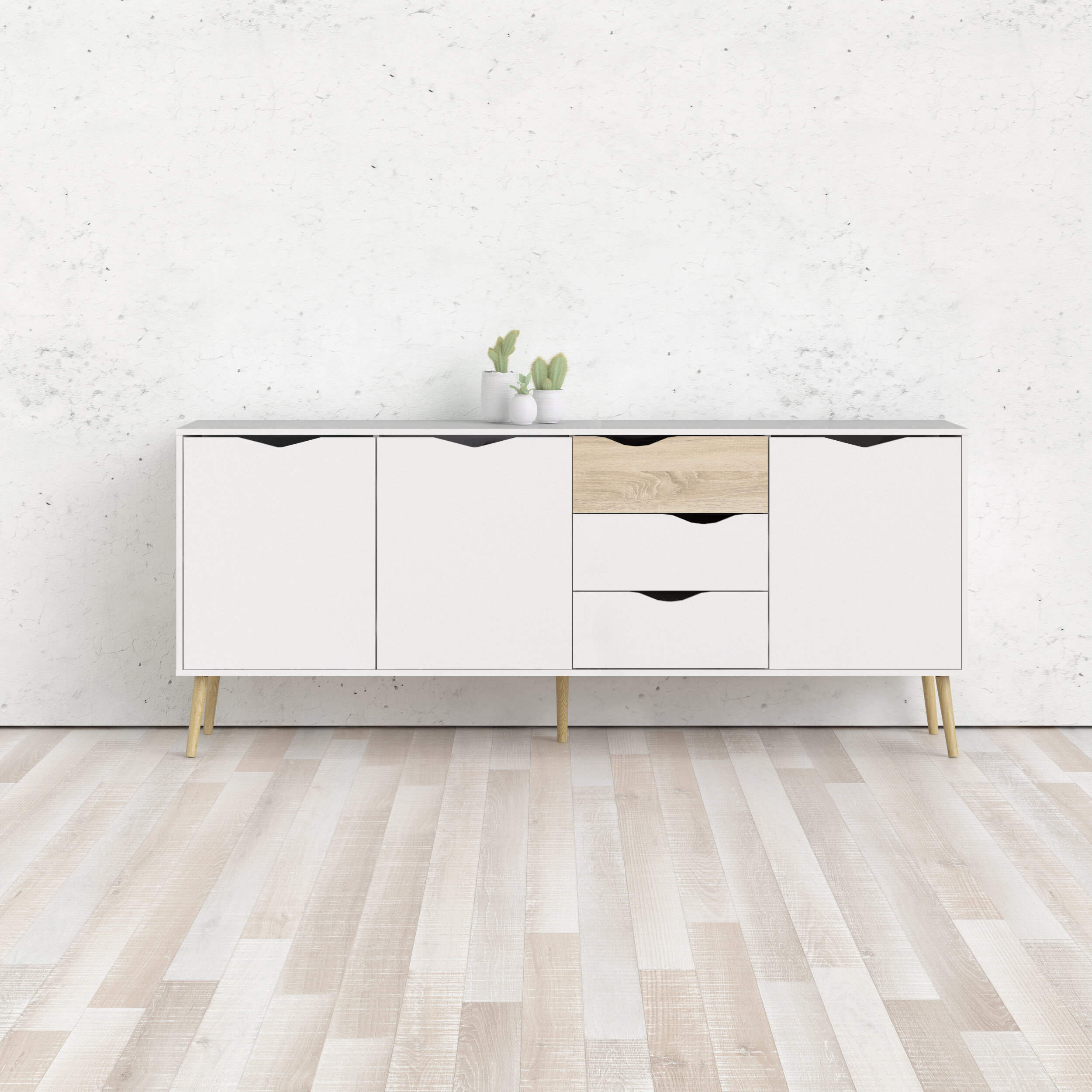 Dowler Buffet Table With 2018 Dowler 2 Drawer Sideboards (View 3 of 20)