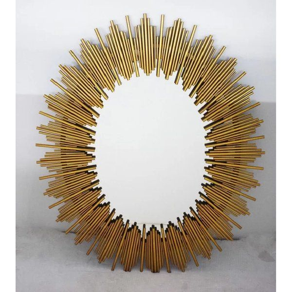 Inspiration about Dulce Oval Accent Mirror | Mirrors | Sunburst Mirror, Mirror For Newtown Accent Mirrors (#18 of 20)