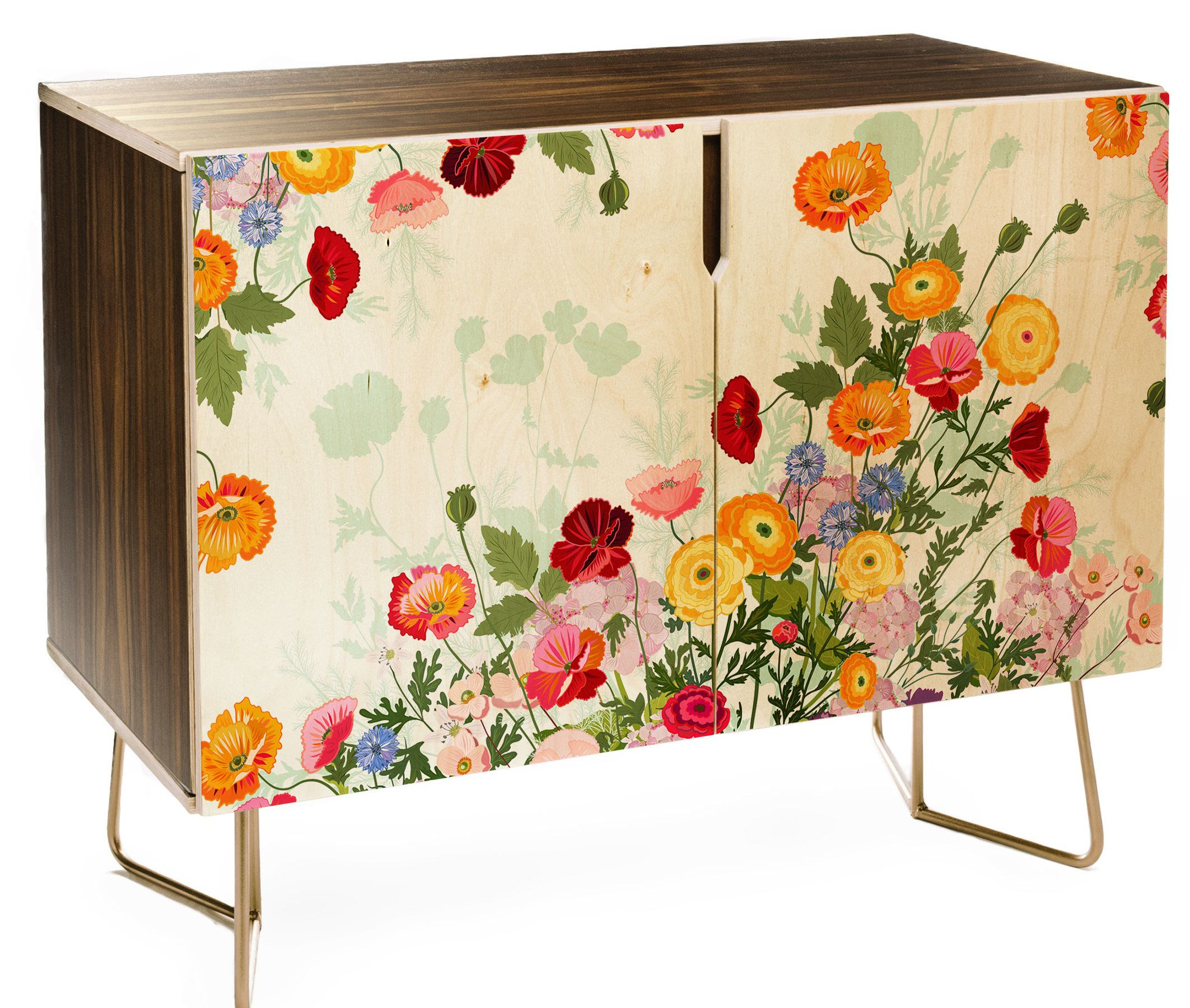 East Urban Home Iveta Abolina Emmaline Credenza In 2019 Intended For Most Popular Emmaline Sideboards (#4 of 20)