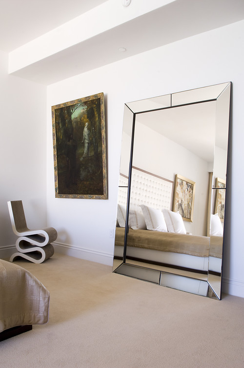 Easy Steps On How To Secure Large Mirrors Within Leaning Mirrors (#7 of 20)