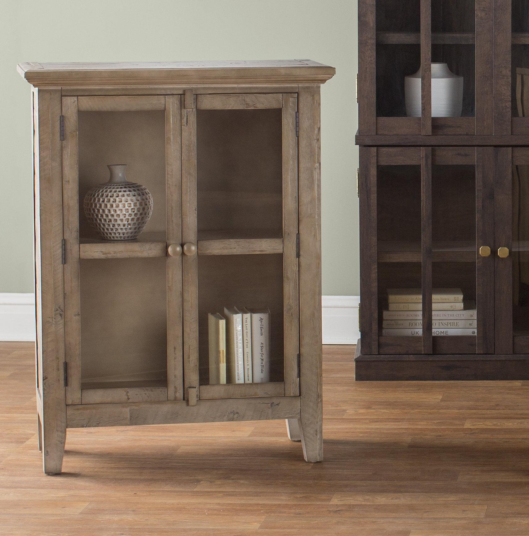 Eau Claire 2 Door Accent Cabinet Regarding Best And Newest Eau Claire 6 Door Accent Cabinets (#5 of 20)