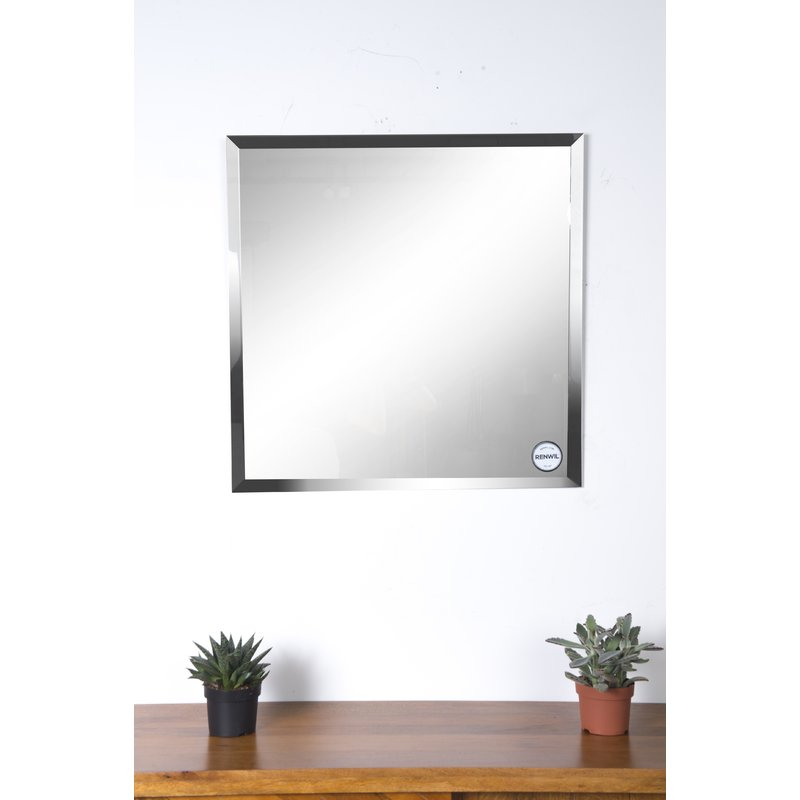 Eclectic Modern & Contemporary Beveled Wall Mirror Intended For Modern & Contemporary Beveled Wall Mirrors (View 16 of 20)