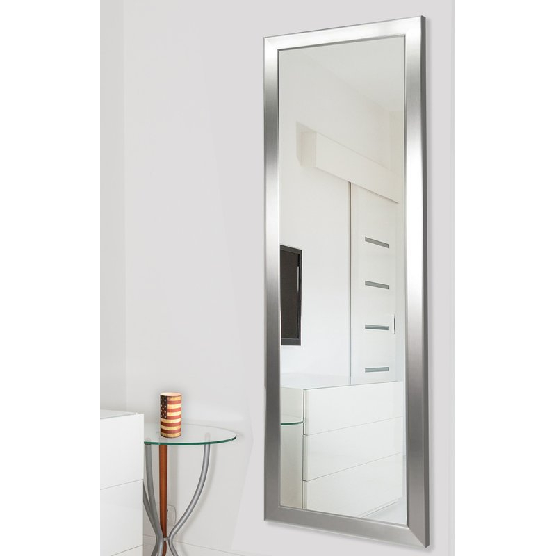 Edge Minimal Modern & Contemporary Full Length Body Mirror Pertaining To Modern & Contemporary Full Length Mirrors (#3 of 20)