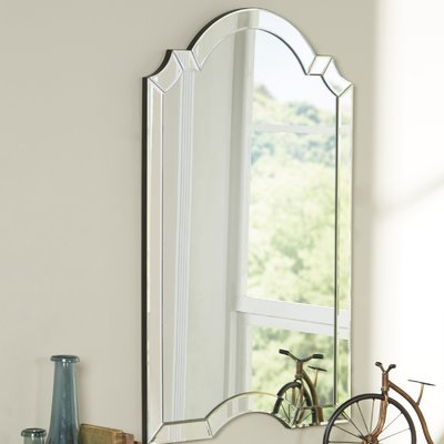 Ekaterina Arch/crowned Top Wall Mirror | Joss & Main With Regard To Ekaterina Arch/crowned Top Wall Mirrors (#16 of 20)