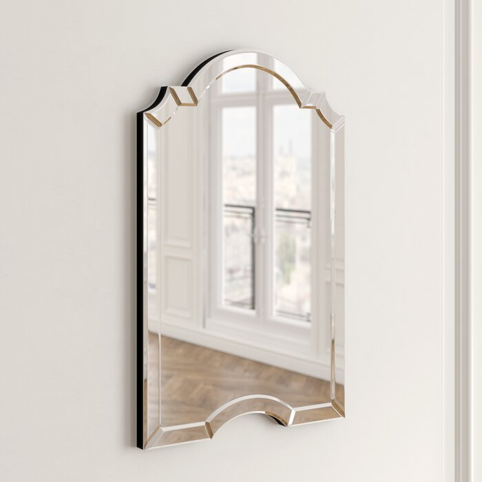Ekaterina Arch/crowned Top Wall Mirror Throughout Ekaterina Arch/crowned Top Wall Mirrors (#12 of 20)