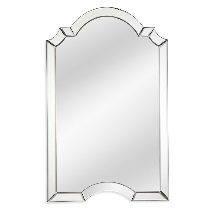Ekaterina Arch/crowned Top Wall Mirror With Ekaterina Arch/crowned Top Wall Mirrors (#13 of 20)