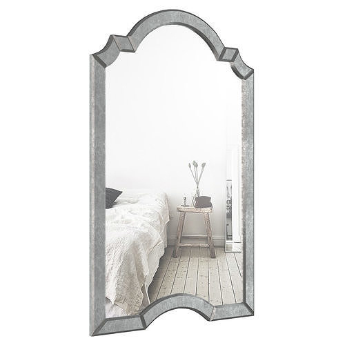 Ekaterina Arch – Crowned Top Wall Mirror Wlao1197 | 3D Model With Regard To Ekaterina Arch/crowned Top Wall Mirrors (#10 of 20)