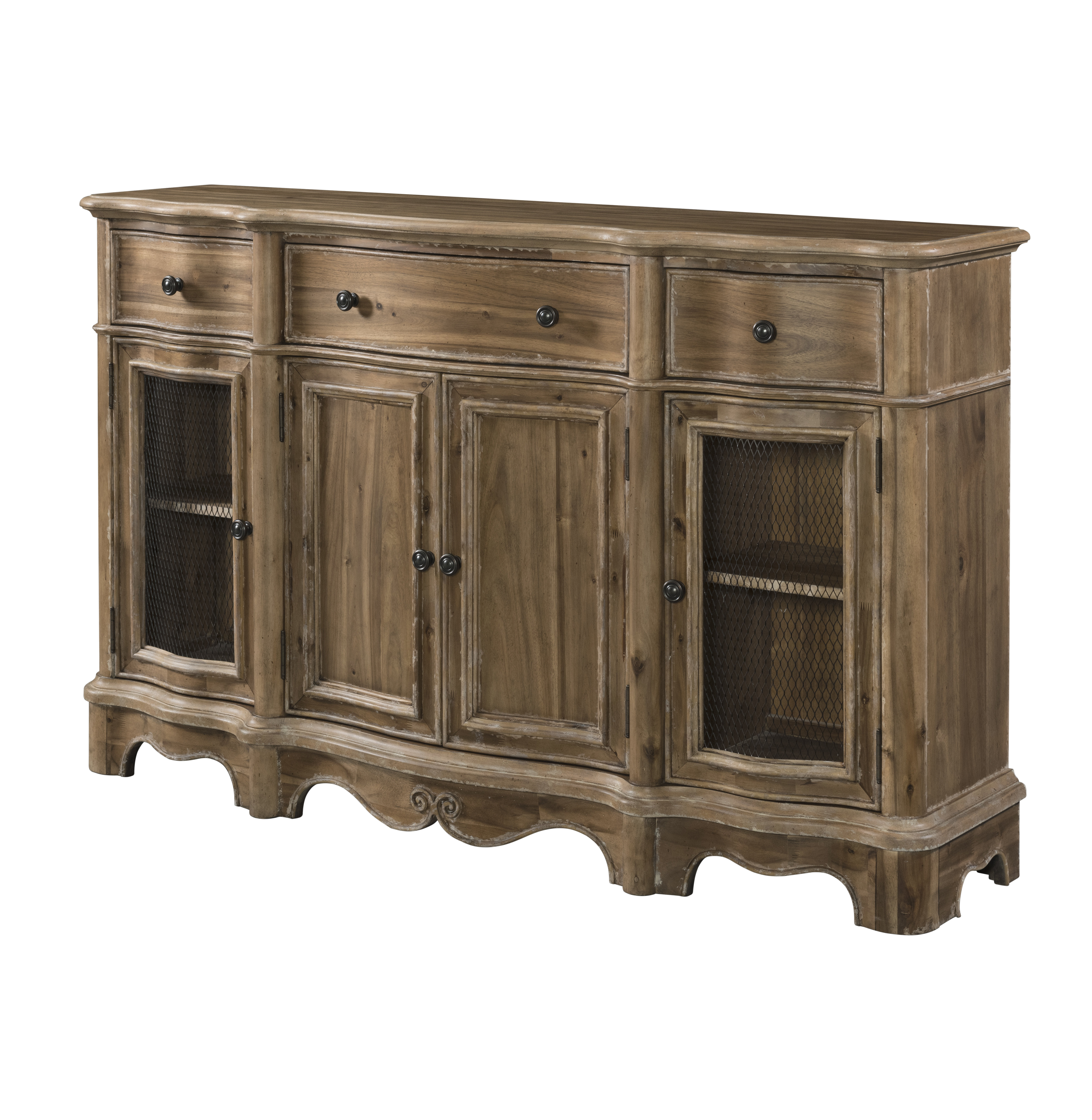 Elena Sideboard Pertaining To Most Popular Ilyan Traditional Wood Sideboards (View 5 of 20)