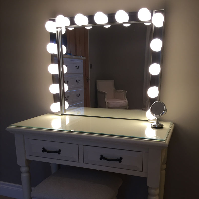 Elizibeth – Hollywood Vanity Mirror Within Vanity Mirrors (View 3 of 20)