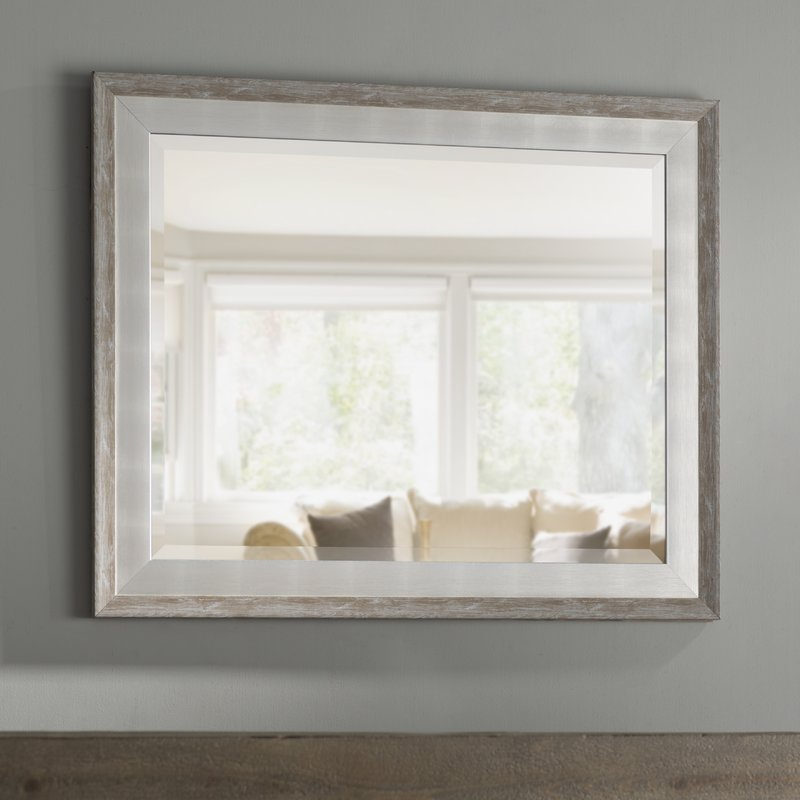 Epinal Shabby Elegance Wall Mirror For Epinal Shabby Elegance Wall Mirrors (#4 of 20)