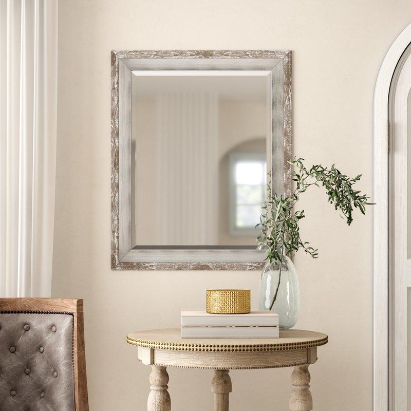 Epinal Shabby Elegance Wall Mirror Inside Epinal Shabby Elegance Wall Mirrors (#11 of 20)