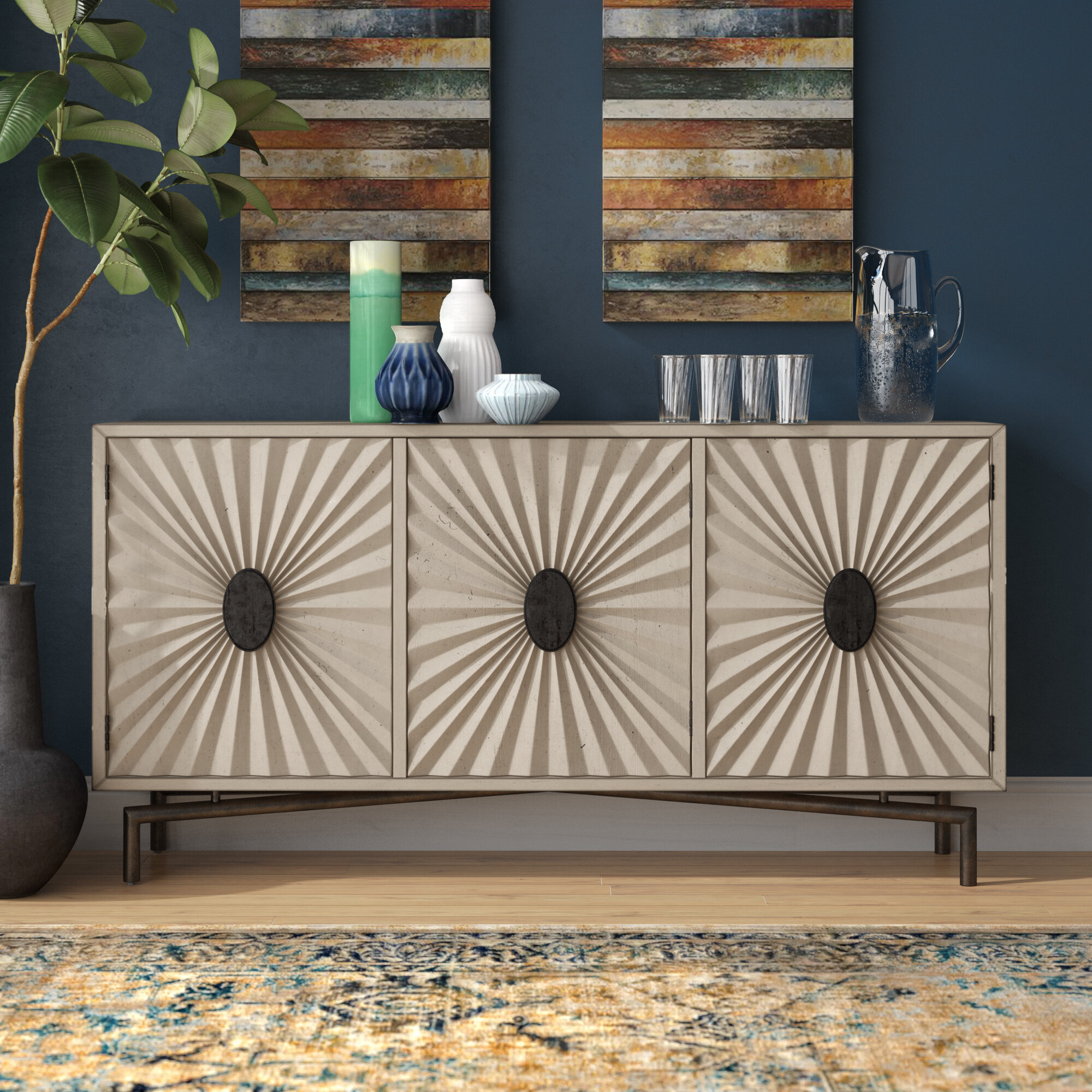 Errol Media Credenza Within Best And Newest Errol Media Credenzas (#11 of 20)