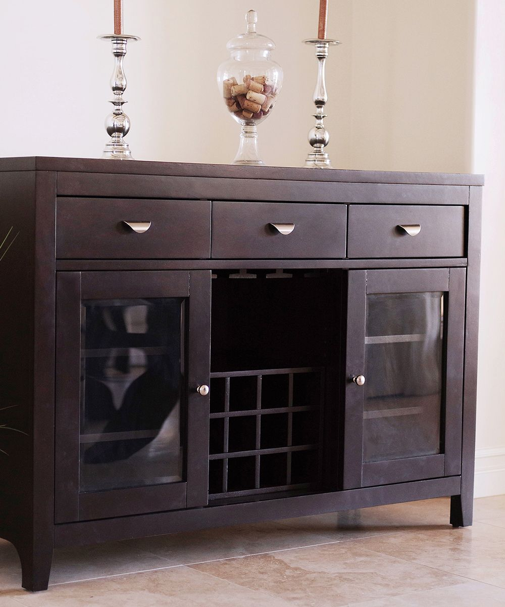 Espresso Belmont Dining Buffet Server | Products In 2019 For 2017 Melange Brockton Sideboards (View 19 of 20)