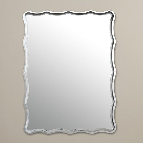 Estefania Frameless Wall Mirror | Bathroom Remodel | Mirror With Regard To Estefania Frameless Wall Mirrors (#11 of 20)