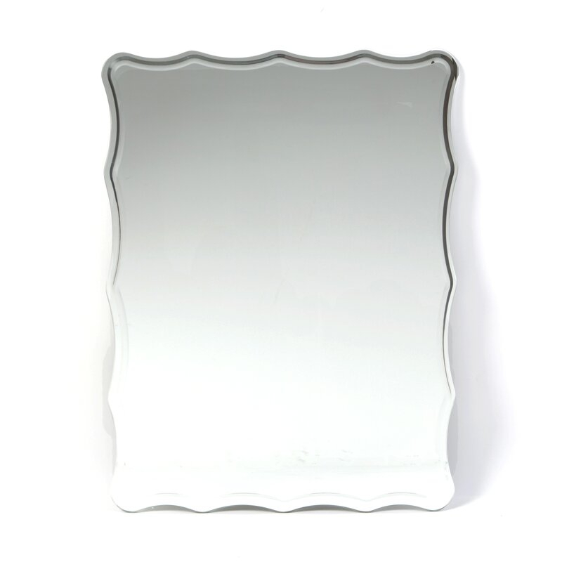 Estefania Frameless Wall Mirror In Estefania Frameless Wall Mirrors (#2 of 20)