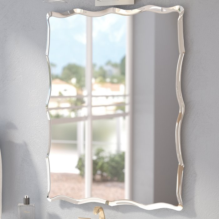 Popular Photo of Estefania Frameless Wall Mirrors