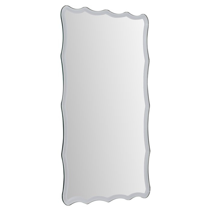 Estefania Frameless Wall Mirror Regarding Estefania Frameless Wall Mirrors (#8 of 20)