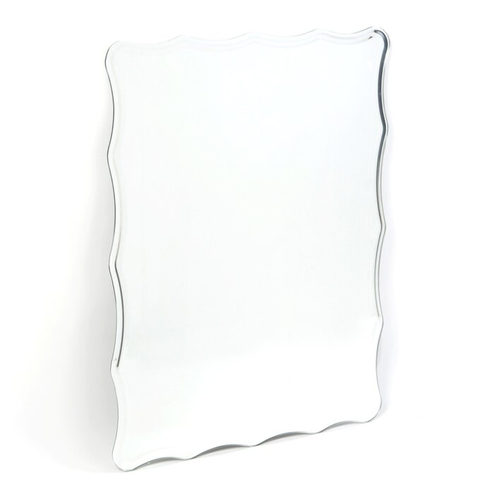 Estefania Frameless Wall Mirror Regarding Estefania Frameless Wall Mirrors (#7 of 20)