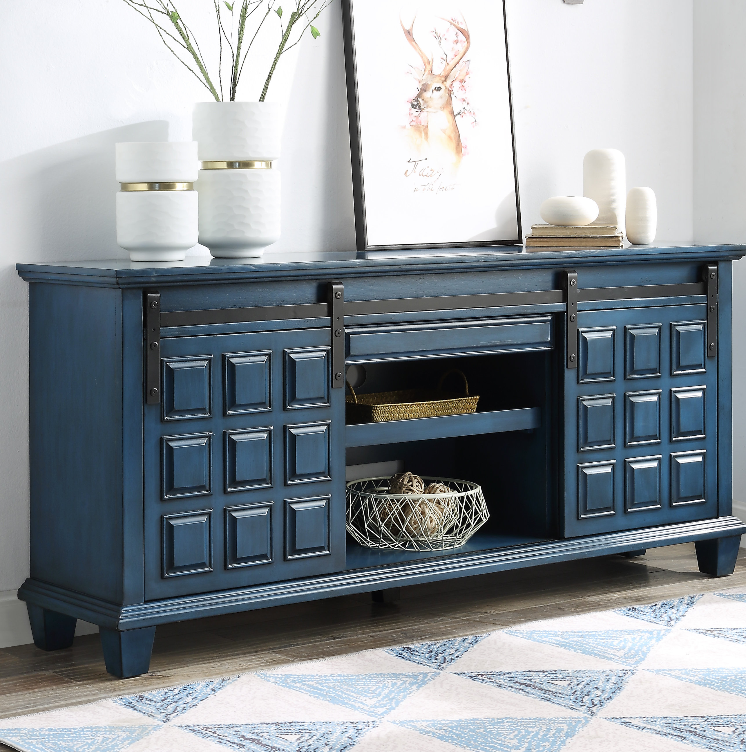 Ethelinda Media Credenza | Wayfair In Most Recent Ethelinda Media Credenzas (#12 of 20)