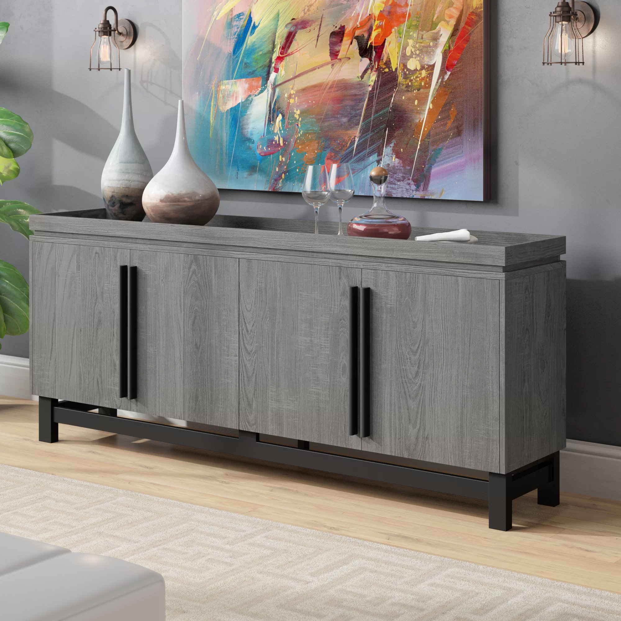 Extra Large Credenza | Wayfair In 2018 Barr Credenzas (#6 of 20)