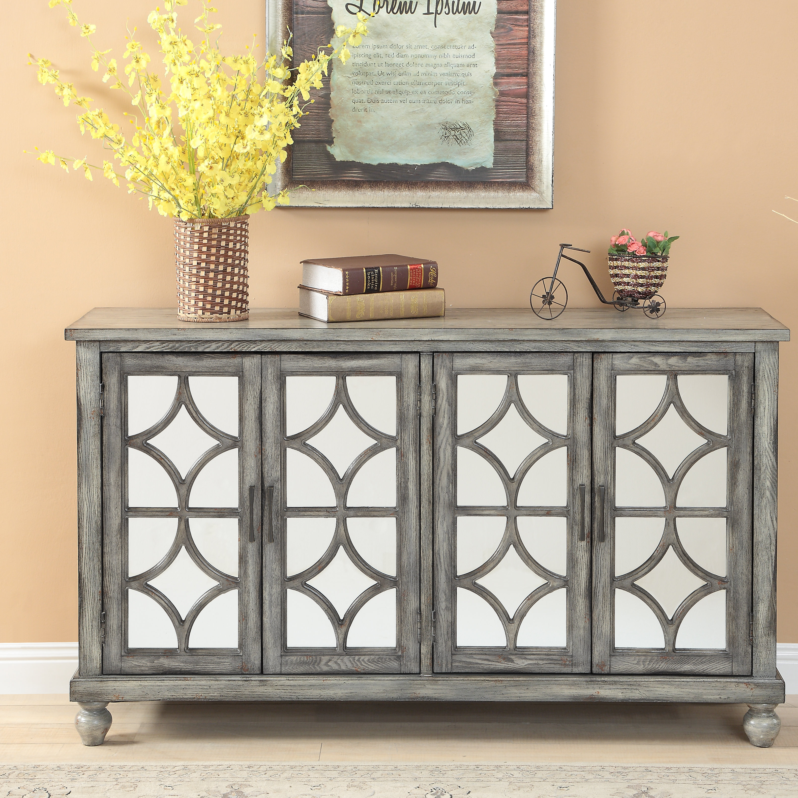Extra Large Credenza | Wayfair In Recent Barr Credenzas (#7 of 20)