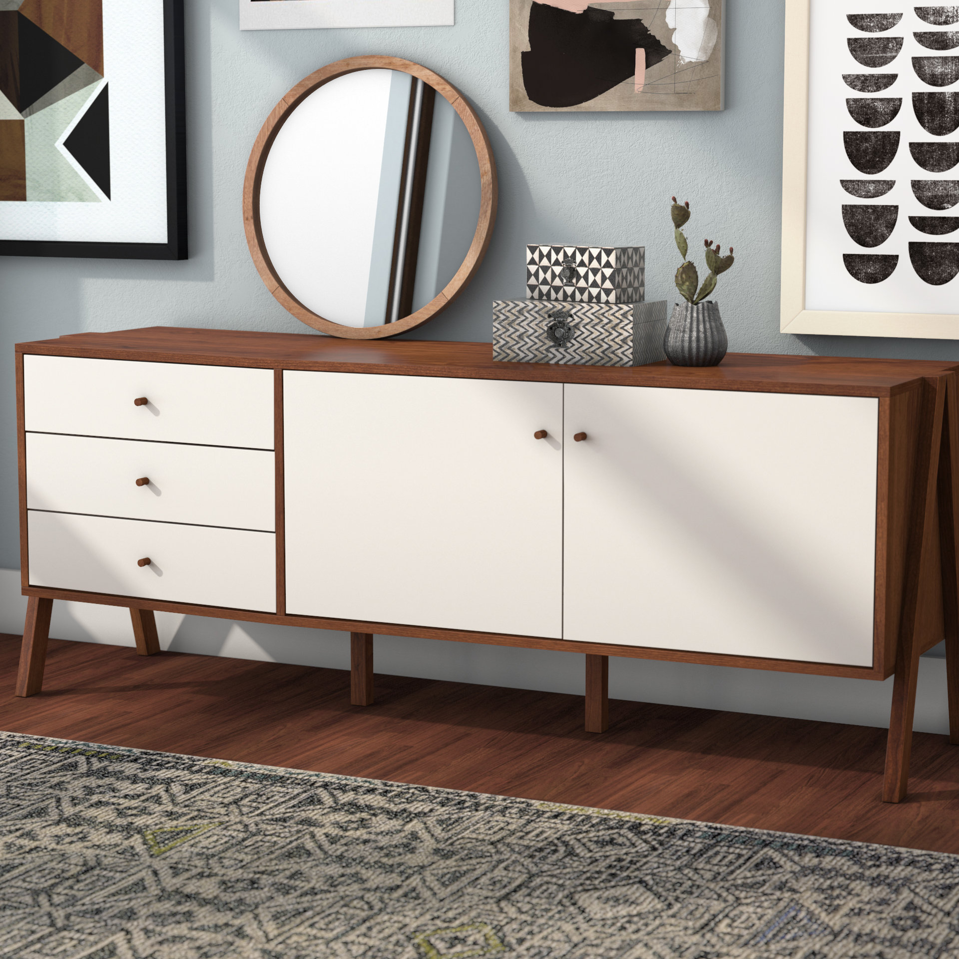 Extra Large Credenza | Wayfair With Most Current Barr Credenzas (#9 of 20)