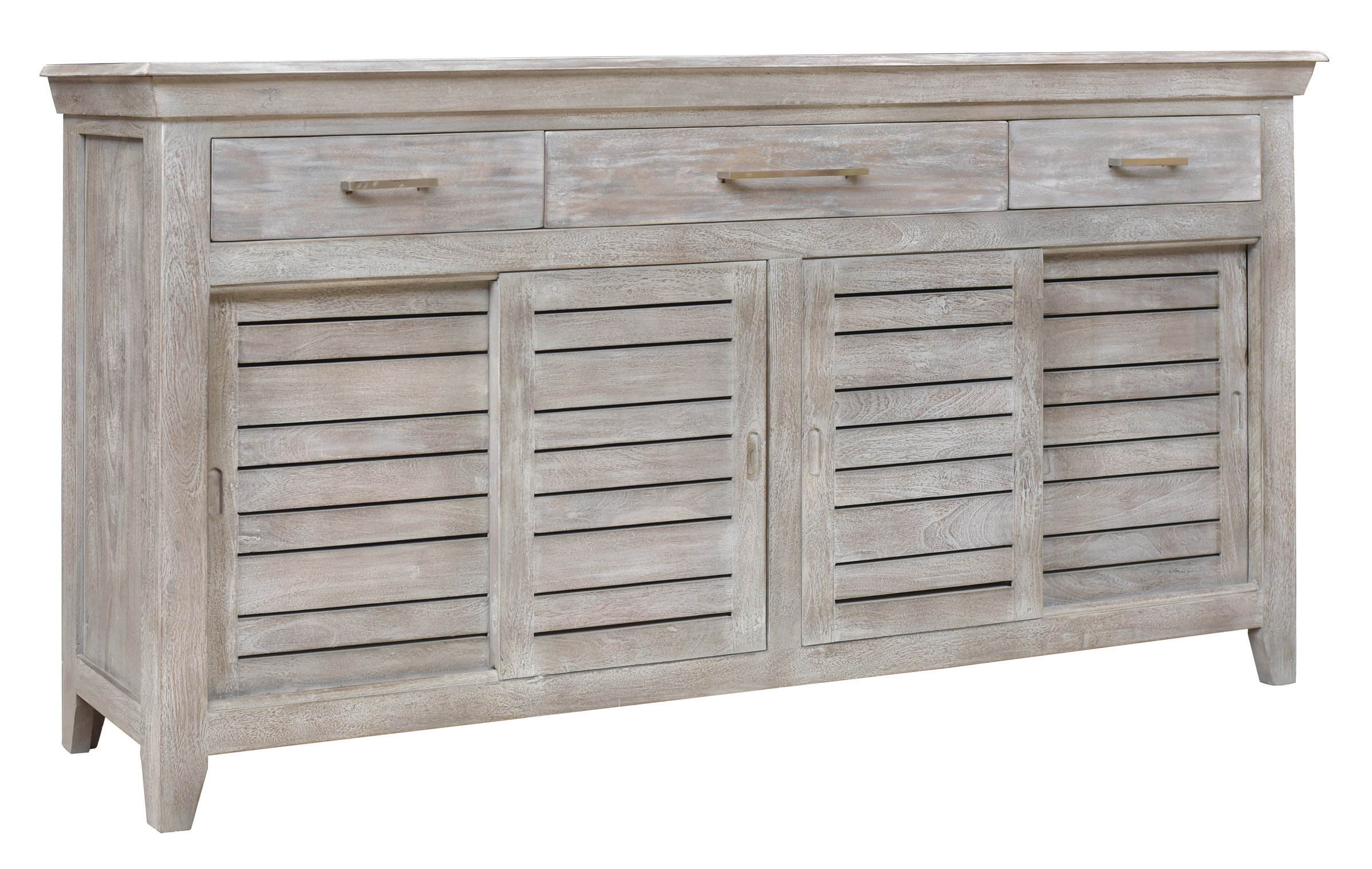 Popular Photo of Drummond 4 Drawer Sideboards